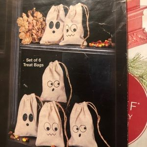 6 Halloween treat bags